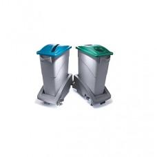 Atkritumu tvertnes SLIM JIM ratiņi