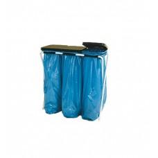 Statīvs maisiem ar plastmasas vākiem